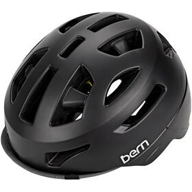 Bern Parker Helm MIPS satinschwarz